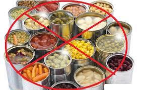 Hindari makanan yang berkaleng saat menstruasi
