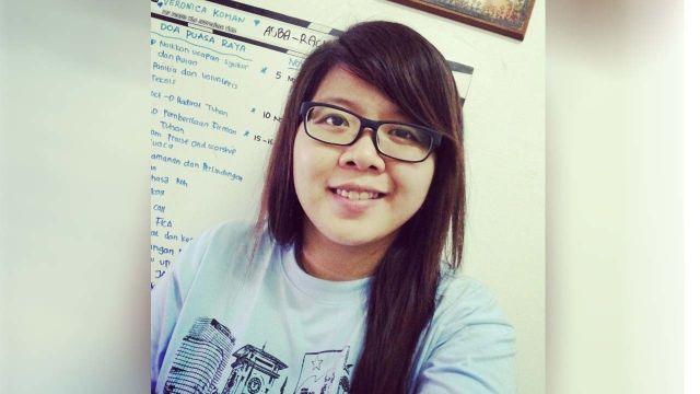 Veronica, Orator di Aksi Dukung Ahok Bukan Lagi Anggota LBH Jakarta