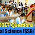 "Download BSE Odisha HSC Exam 2017 ""SSC (Social Science [SSG/SSH])"" - Objective Question Paper PDF"
