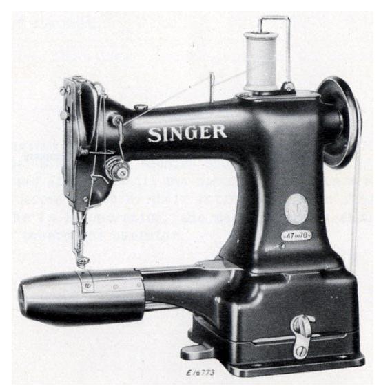 mohsin sajid singer 47w70 darning repair machine. Black Bedroom Furniture Sets. Home Design Ideas