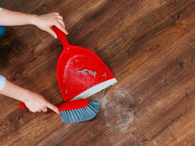 Gambar Cara Menyapu Lantai Dengan Teknik dan Tata Cara yang Benar