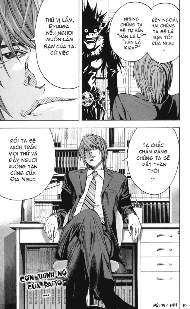 Death Note chapter 019 trang 20