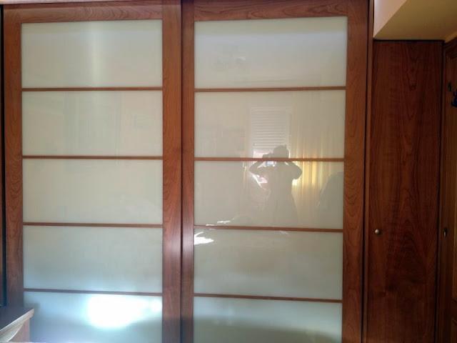 Ebanisteria carpinteria manuel perez zaragoza armario - Puertas correderas estilo japones ...
