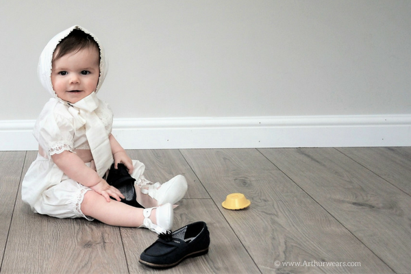 Christening outfits from ROCO clothing