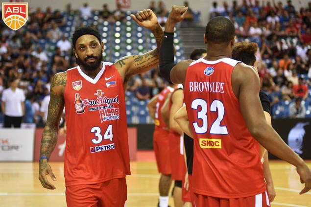 Renaldo Balkman broke ABL's single-game scoring record with 46 points