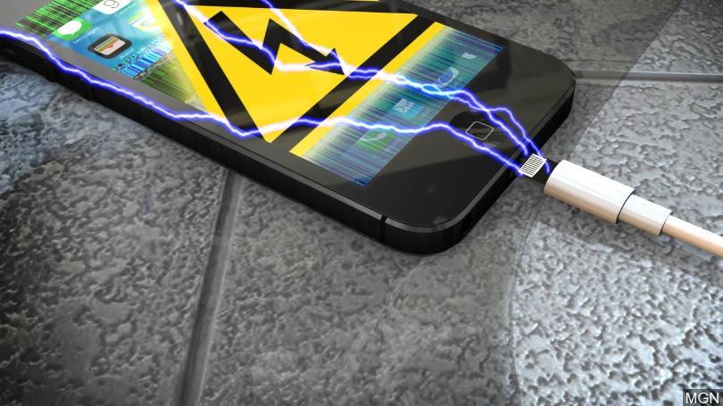 phone overcharging