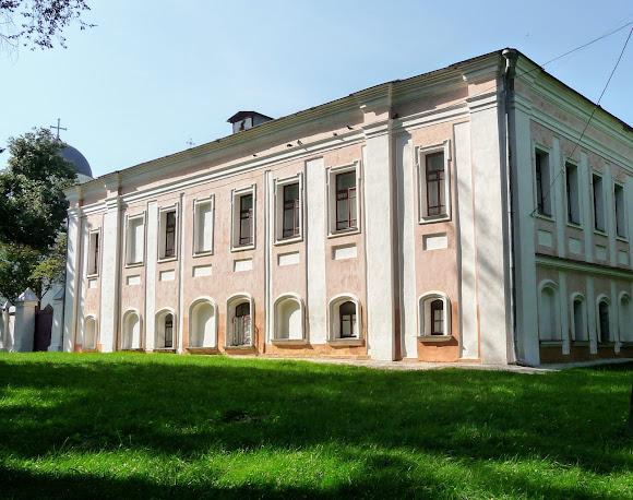 Чернигов. Детинец. Дом Архиепископа. Областной архив. 1780 г.