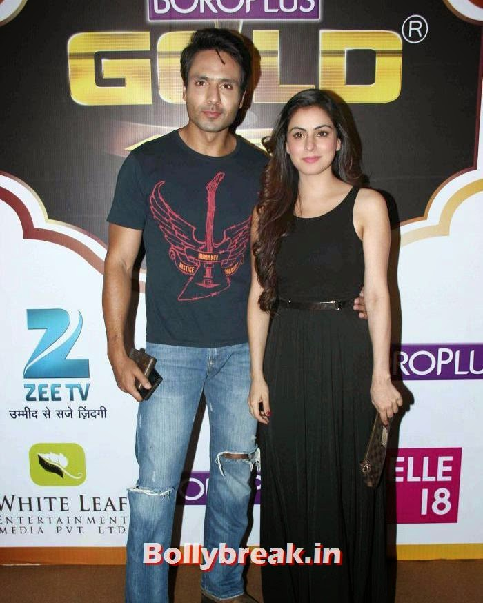 Mohammed Iqbal Khan, Sneha, Popular Tv Actresses on The Red Carpet of 7th Boroplus Gold Awards