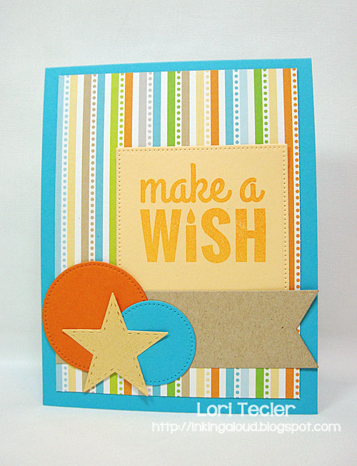 Make a Wish card-designed by Lori Tecler/Inking Aloud-stamps from My Favorite Things