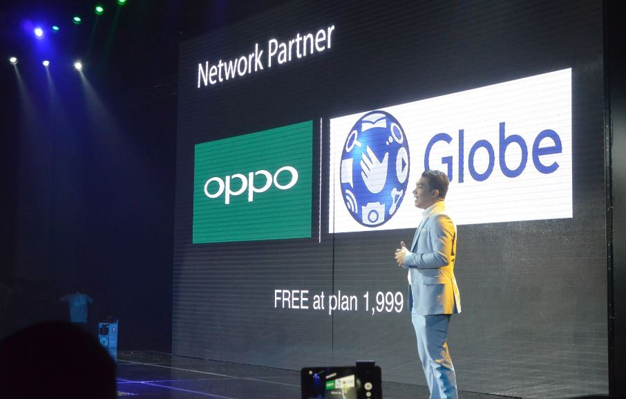 OPPO x Globe partnership OPPO F3 Plus