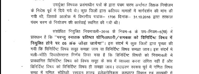 Teacher Niyojan Date Published 09-12-2016