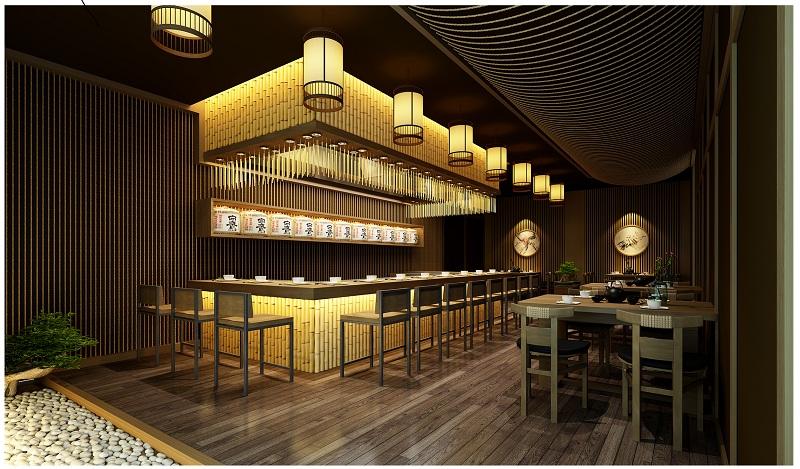 Thiết kế nhà hàng kiểu Nhật là một không gian thông minh
