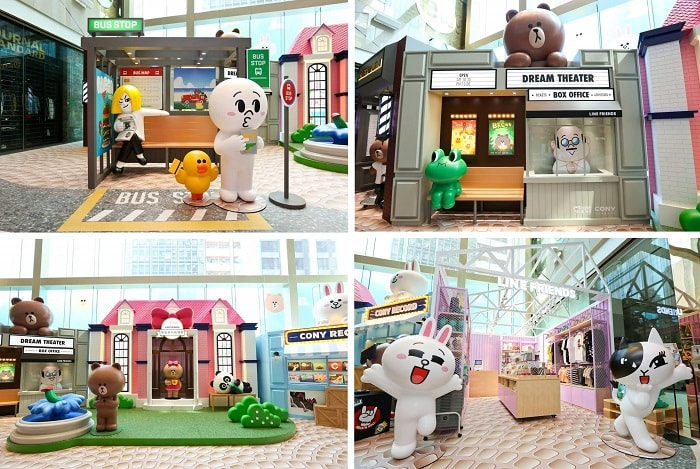 The ONE meets LINE FRIENDS Summer Street Fun