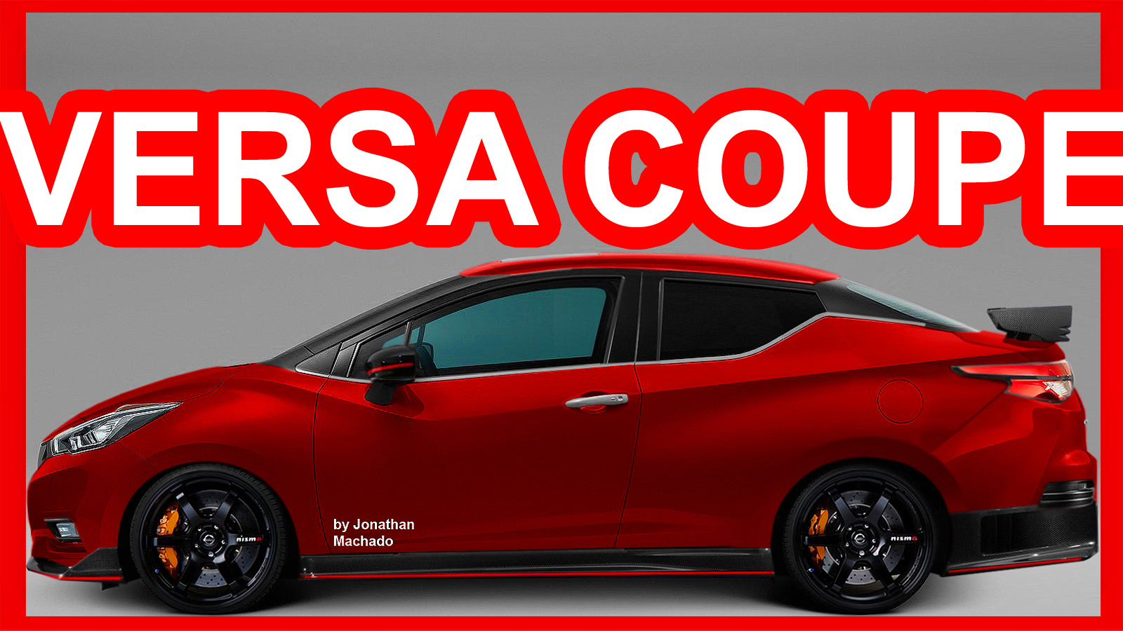 PHOTOSHOP All-New 2018 Nissan Versa Coupe @ Almera Sunny ...