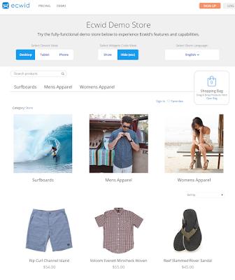 ECWID Shopping Portal