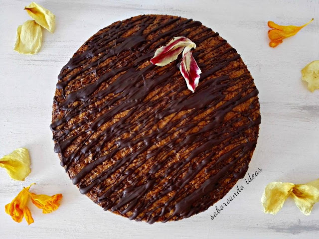 bizcocho de zanahoria y chocolate - saboreando ideas