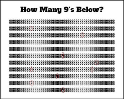 Hidden Number Picture Brain Teaser Answer