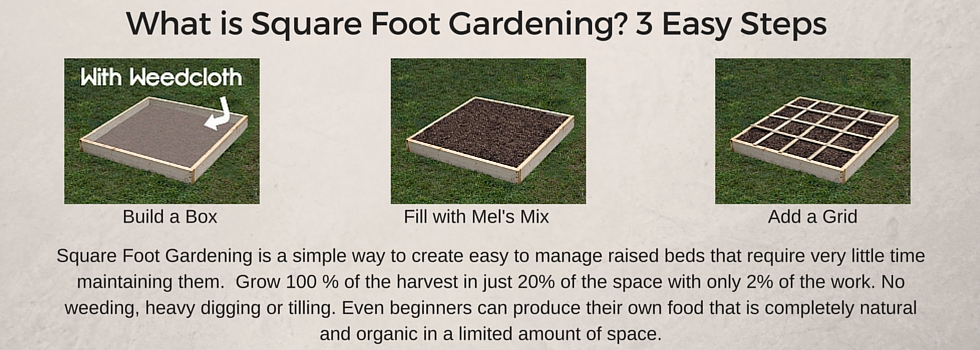 Outdoorsy montessori how to design a square foot garden for How to add square feet