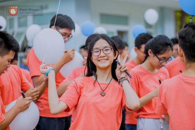 nụ cười của học sinh NTP trong lễ ra trường