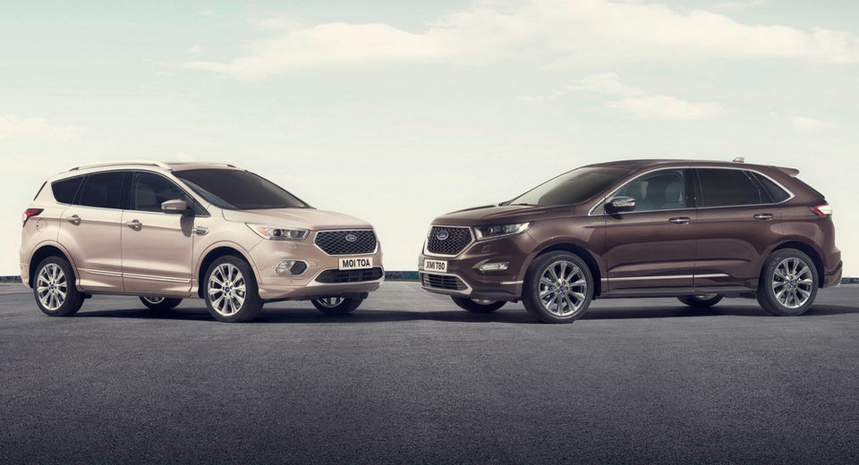 upmarket ford kuga edge vignale suvs now available for order in europe. Black Bedroom Furniture Sets. Home Design Ideas