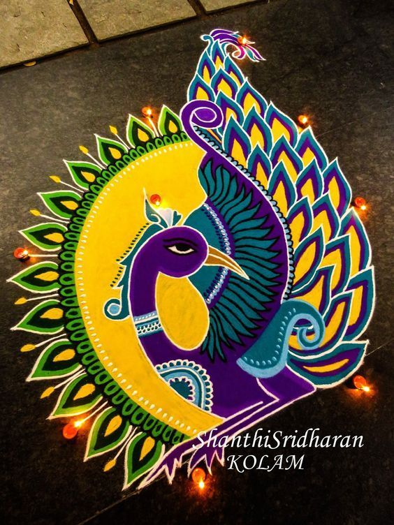 Happy New Year Rangoli Design Gallery 101