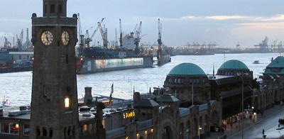 Avrupa'nın En Büyük Limanlar, HAMBURG LIMANI