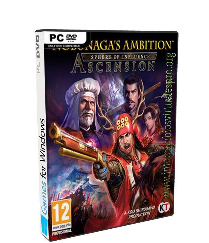 nobunagas ambition sphere of influence ascension poster box cover