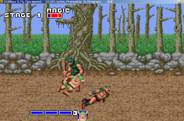 Golden Axe - Rush Strikes Screenshot