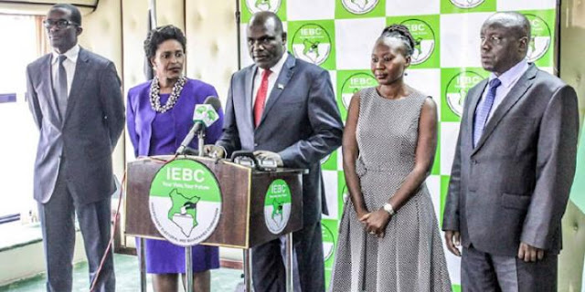 iebc bosses - UNDER PRESSURE:IEBC NOW CONFIRMS FORMS 34As ARE MANIPULATED