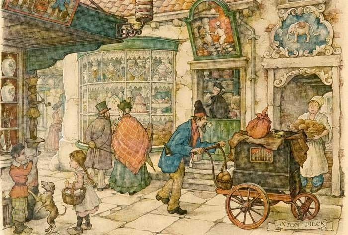 13-Anton-Franciscus Pieck-1895-to-1987-a-life-of-Illustrations-and-Paintings-www-designstack-co