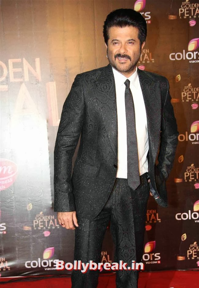 Anil Kapoor, Colors Tv 3rd Golden Petal Awards