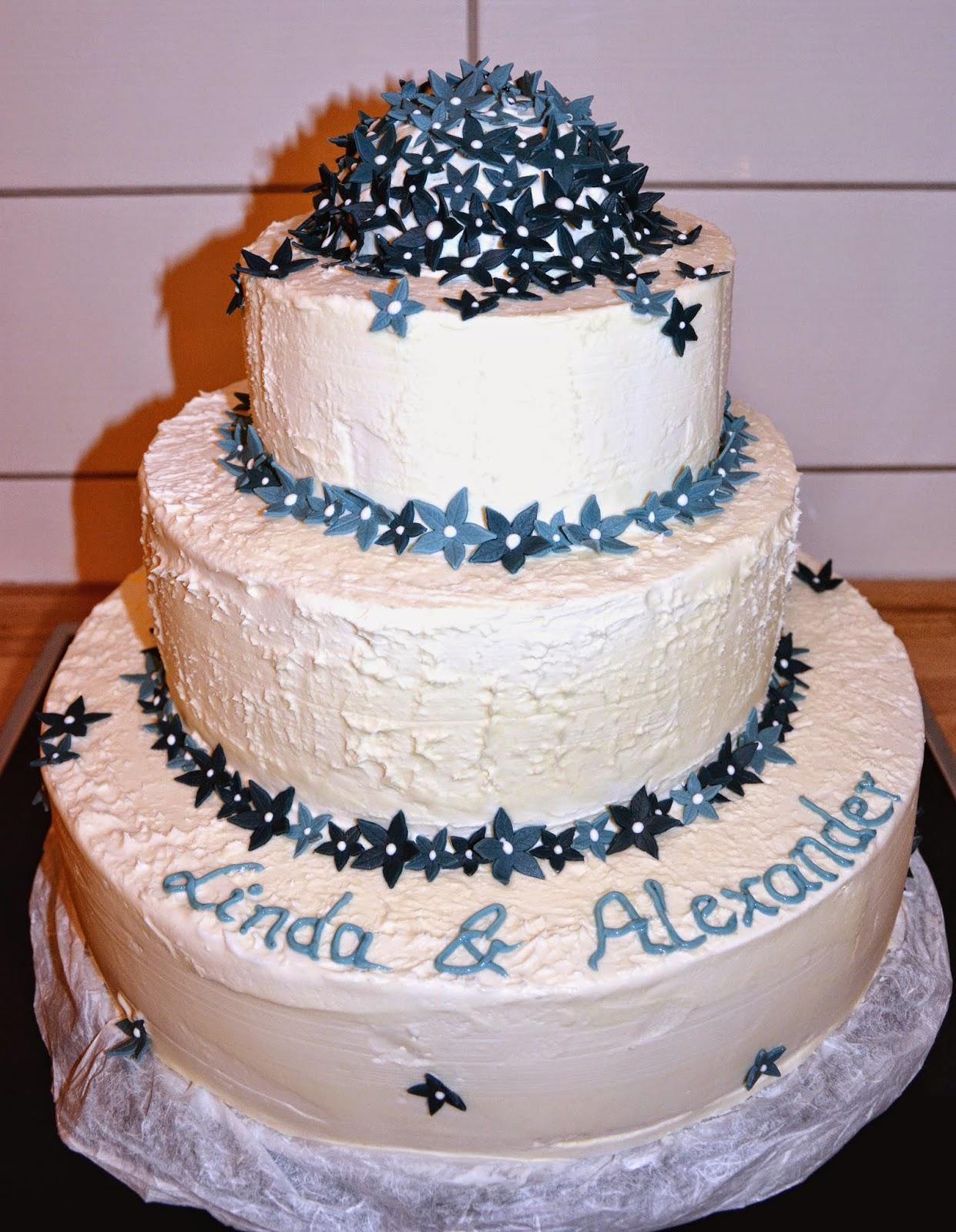 Noch Eine Hochzeitstorte Bakerydoings