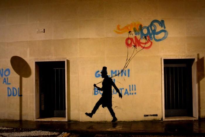 Kenny Random. Итальянский уличный художник 6