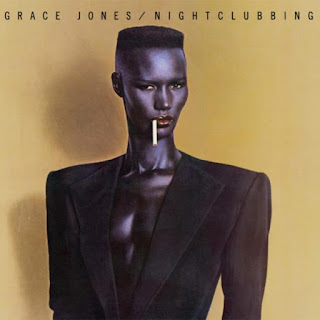 Grace Jones wearing Shoulder Pads in 1981