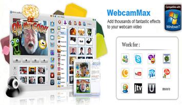 تحميل برنامج ويب كام ماكس WebcamMax 2017 للكمبيوتر