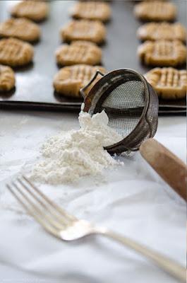 Fork and flour