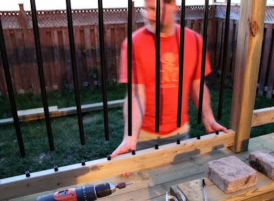 installing balusters