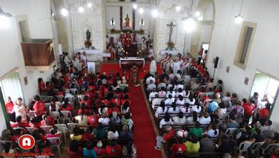 Bispo Dom Lucena torna Igreja de São Lourenço em Área Pastoral