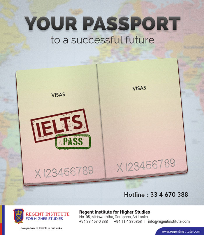 Your Passport to a successful future IELTS