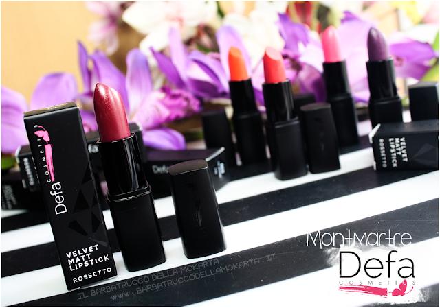 montmartre review Defa cosmetics lipstick