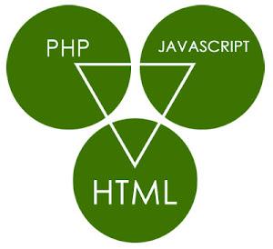 JavaScript, PHP dan HTML