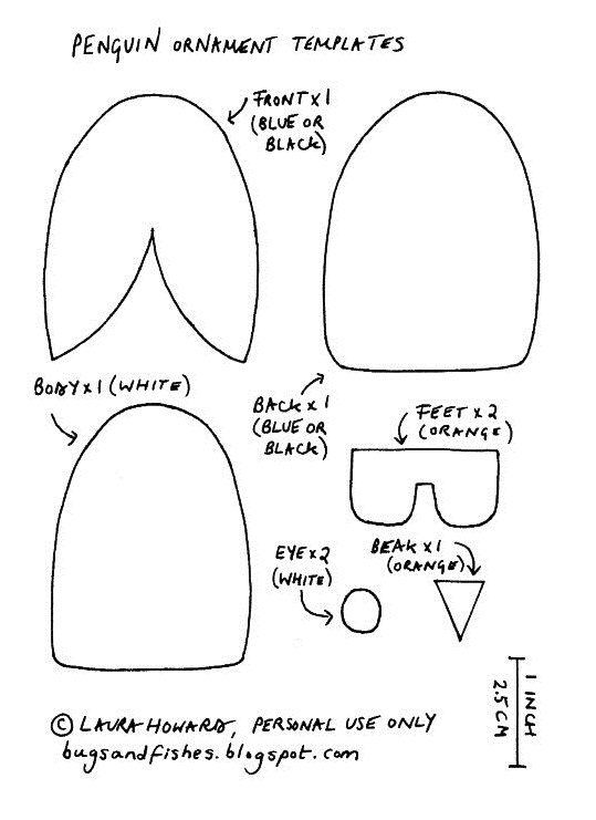 Penguin Template Penguin Craft Template Materials Needed To Make A