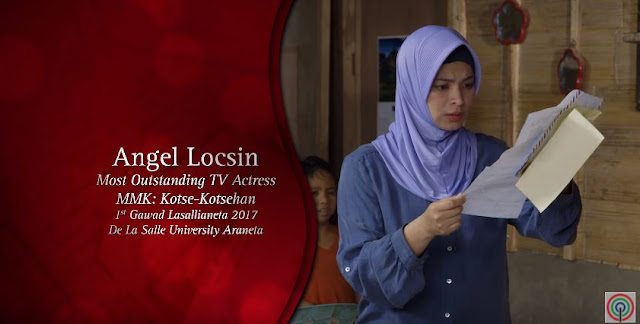 MMK 25: Angel Locsin Receives Two Recognition For Her Exceptional Performance In 'Maalaala Mo Kaya'!