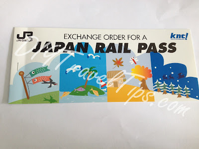 JR Pass Exchange order front