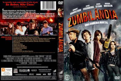 Filme Zumbilândia (Zombieland) DVD Capa