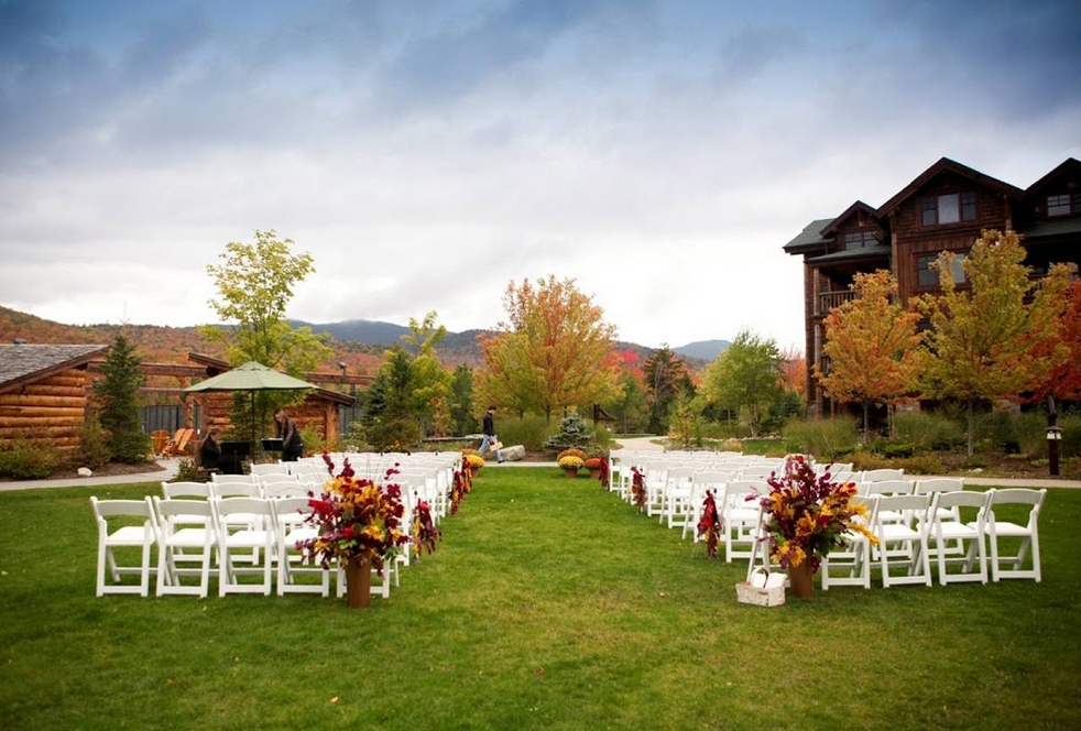 The Whiteface Lodge Lake Placid NY Wedding Venue