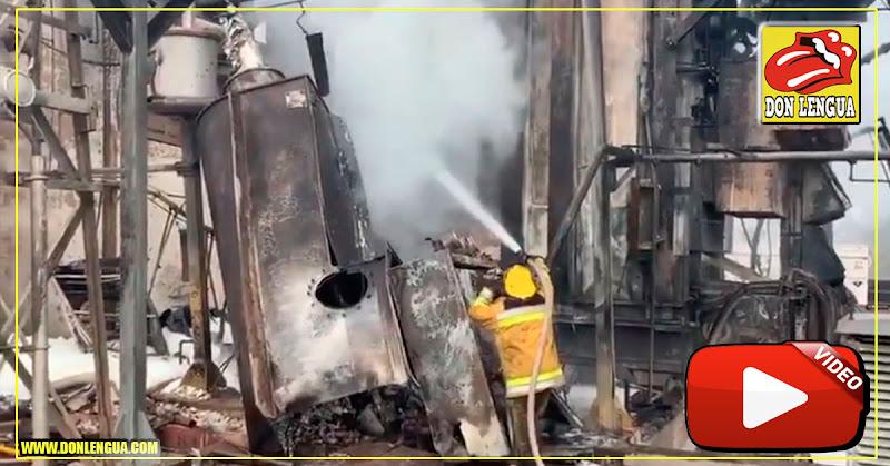 Falta de Mantenimiento hizo explotar un patio de 765 Kva del Guri