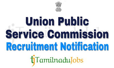 UPSC notification 2018