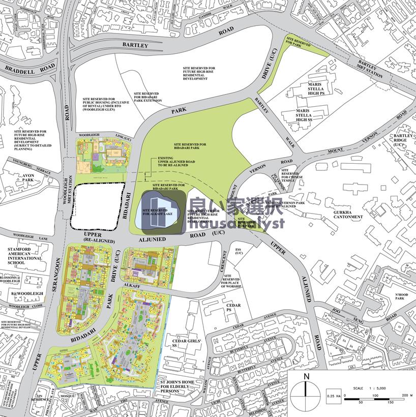 Amazing How Bidadari estate have evolved thus far we have piled all Bidadari developments into single high resolution map indicating future developments as