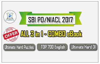 SBI PO/NIACL 2017 – ALL 3 in 1 COMBO eBook Based on New Pattern with Detailed Explanation – Download in PDF